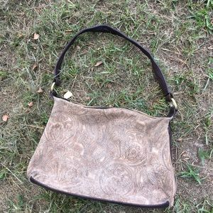 St. Johns Bay Suede Purse